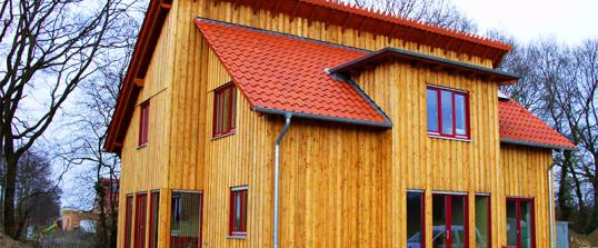 Holzfassadenverkleidungen